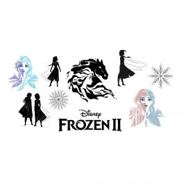 Disney® Frozen II Vinyl Silhouettes Digital Image Set
