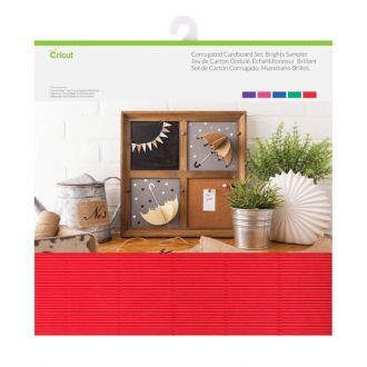 Corrugated Cardboard Sampler, Brights