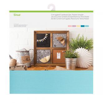 Corrugated Cardboard Sampler, Pastels