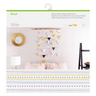 Deluxe Paper, Pastel Geometrics