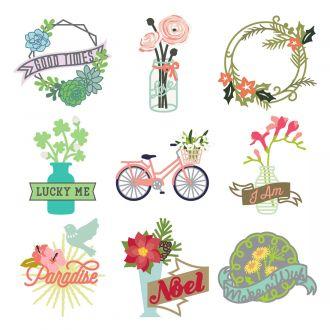 Digital Image Set, Close To My Heart - Flower Market