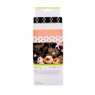 Designer Fabric Sampler, Apricot & Persimmon