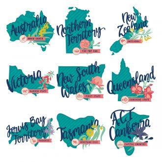 Digital Image Set, Close To My Heart - Hello AU/NZ
