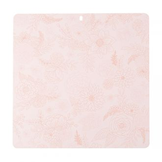 "Decorative Self-Healing Mat, Rose - 12"" x 12"""