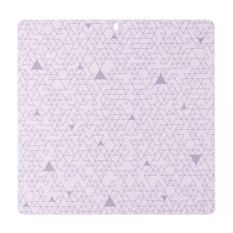 "Decorative Self-Healing Mat, Lilac - 12"" x 12"""