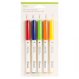 Gel Pen Set, Fingerpaint (5 ct)