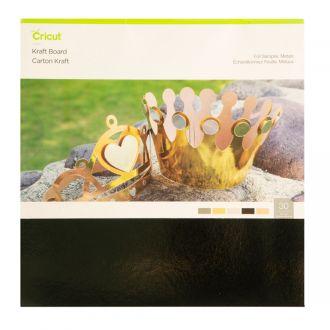 Cricut Kraft Board Foil Sampler, Metals