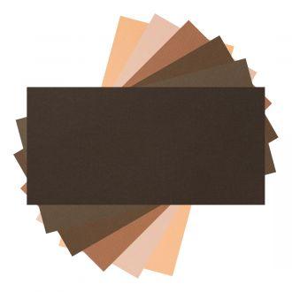 """Cardstock Sampler, Brown Tones - 12"""" x 24"""""""
