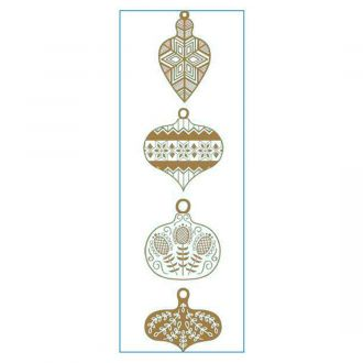 Iron-On Designs™, Gold Ornaments (SM)