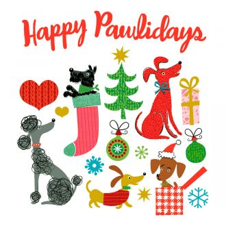 Cricut  Iron-On Designs™, Rob & Bob Happy Pawlidays (LG)