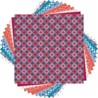 Deluxe Paper, Rob & Bob Geometric Tiles