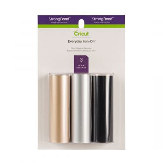 Cricut® Everyday Iron-On™Mini Sampler, Classics