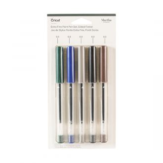 Extra Fine Point Pen Set, Martha Stewart Gilded Forest (5 ct)