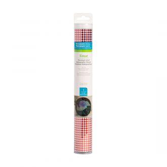 Premium Vinyl™ Holographic Mosaic Circles – Permanent