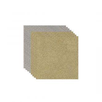Glitter Iron-On Bundle, Gold & Silver