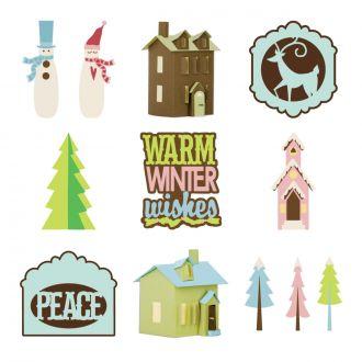 Winter Woodland Digital Set