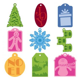 Very Merry Tags Digital Set