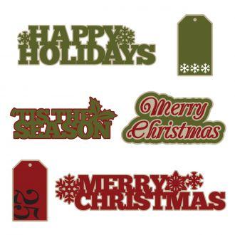 Christmas Sentiments Digital Set