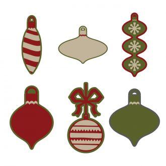 Christmas Ornaments Digital Set