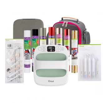 "Cricut EasyPress™ 2, Mint - 6"" x 7"" + Everything Iron-On Bundle"