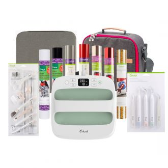 "Cricut EasyPress™ 2, Mint - 9"" x 9"" + Everything Iron-On Bundle"