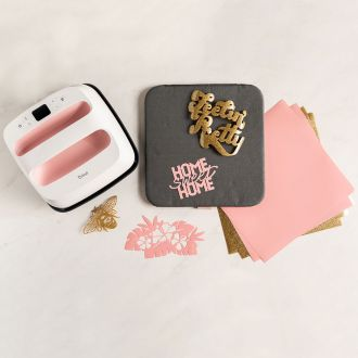 "Cricut EasyPress® 2, Rose + Bundle - 9"" x 9"""