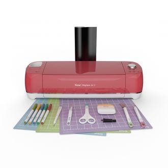 Cricut Explore Air 2 + Essentials Bundle, Raspberry