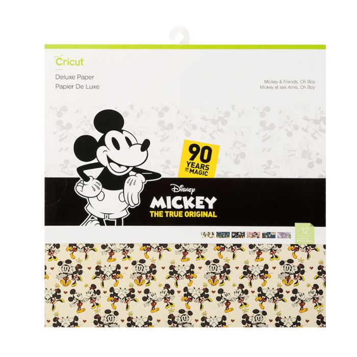 Deluxe Paper, Mickey & Friends - Oh Boy