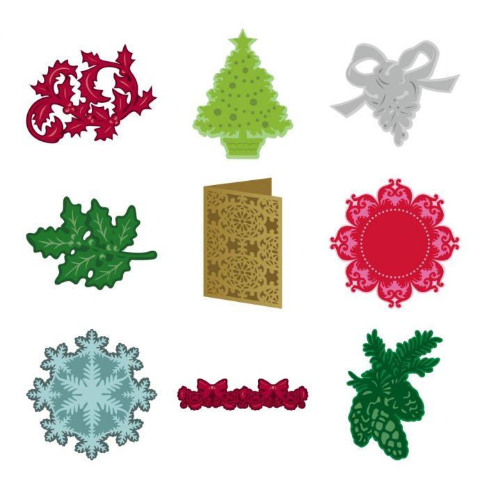 Digital Christmas Cards.Cricut Anna S Christmas Cards Embellishments Digital Cartridge