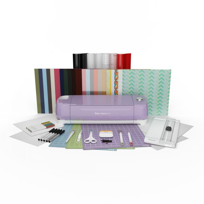 Cricut Explore Air™ 2, Lilac + Everything Bundle