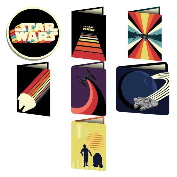 Digital Image Set, Star Wars™ - Nostalgia Cards