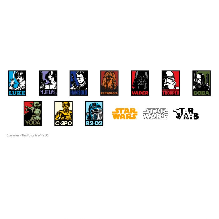 Digital Image Set, Star Wars™ - The Force Is with Us