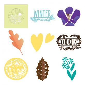 Four Seasons Home Decor Digital Set Cricut Com