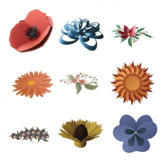 3d Floral Home Decor Digital Set Cricut Com