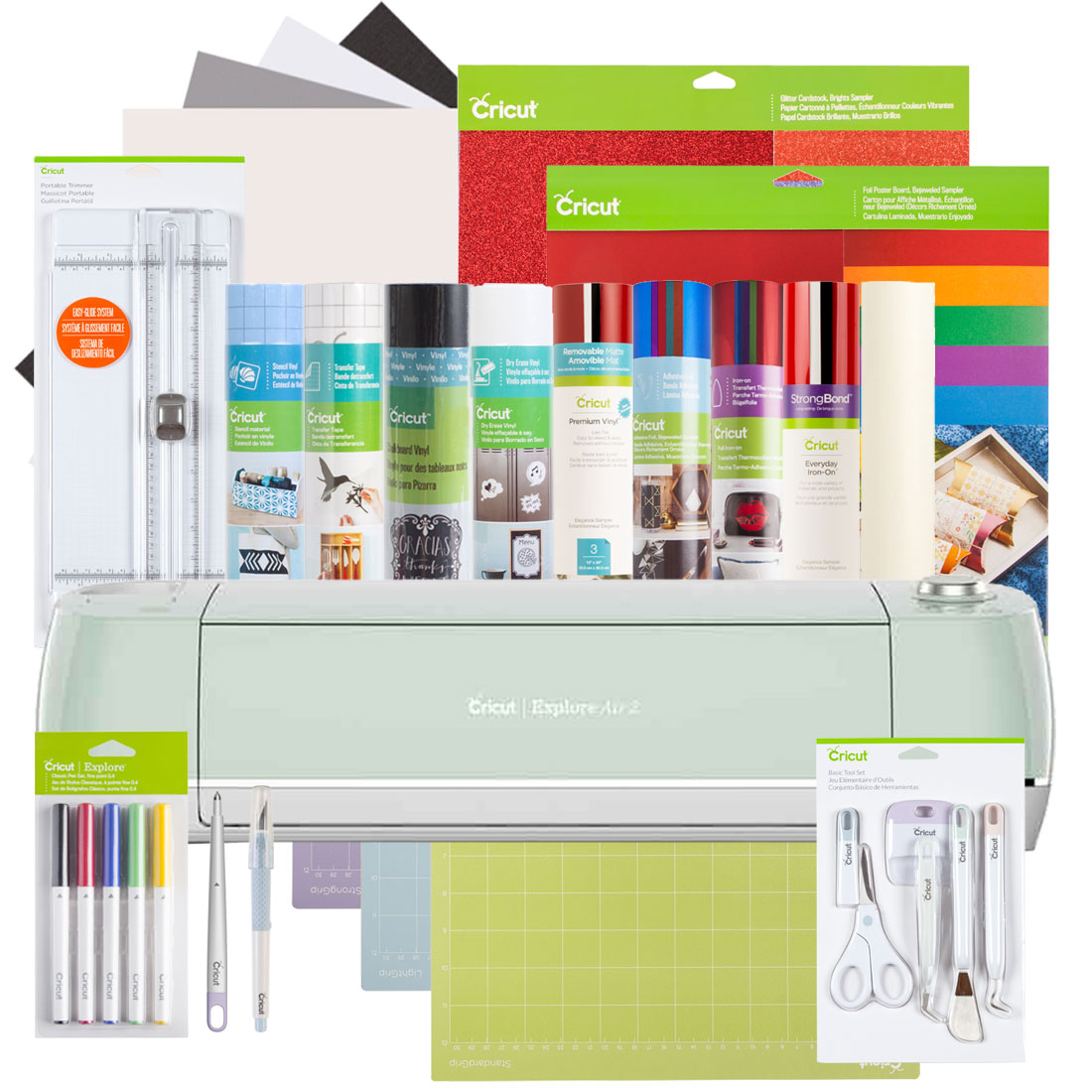 Cricut Explore Air™ 2, Mint + Everything Bundle