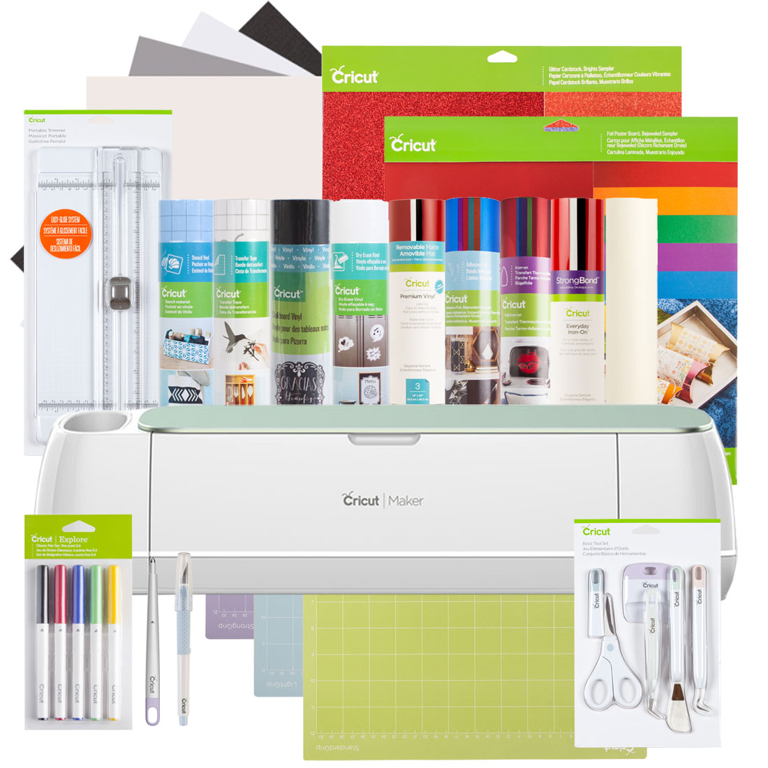 Cricut Maker® + Everything Materials Bundle, Mint
