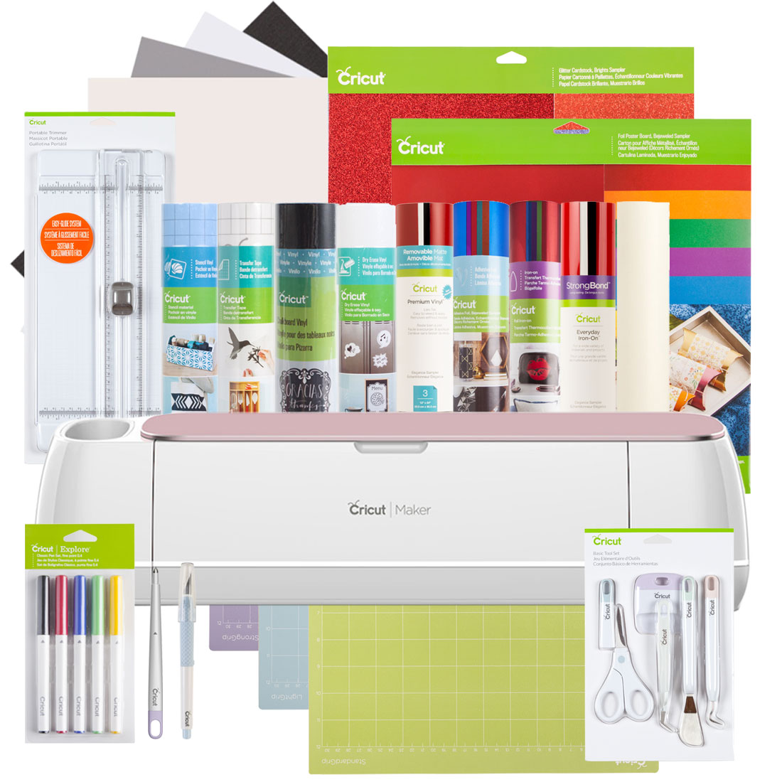 Cricut Maker® + Everything Materials Bundle, Rose